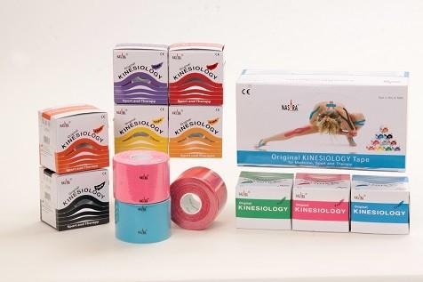 Kinesiologisches Tape, verschiedene Farben