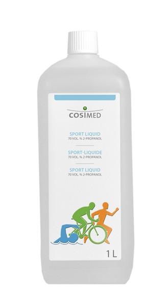 cosiMed Sport-Liquid mit 70 Vol. % 2-Propanol, 1 l Flasche